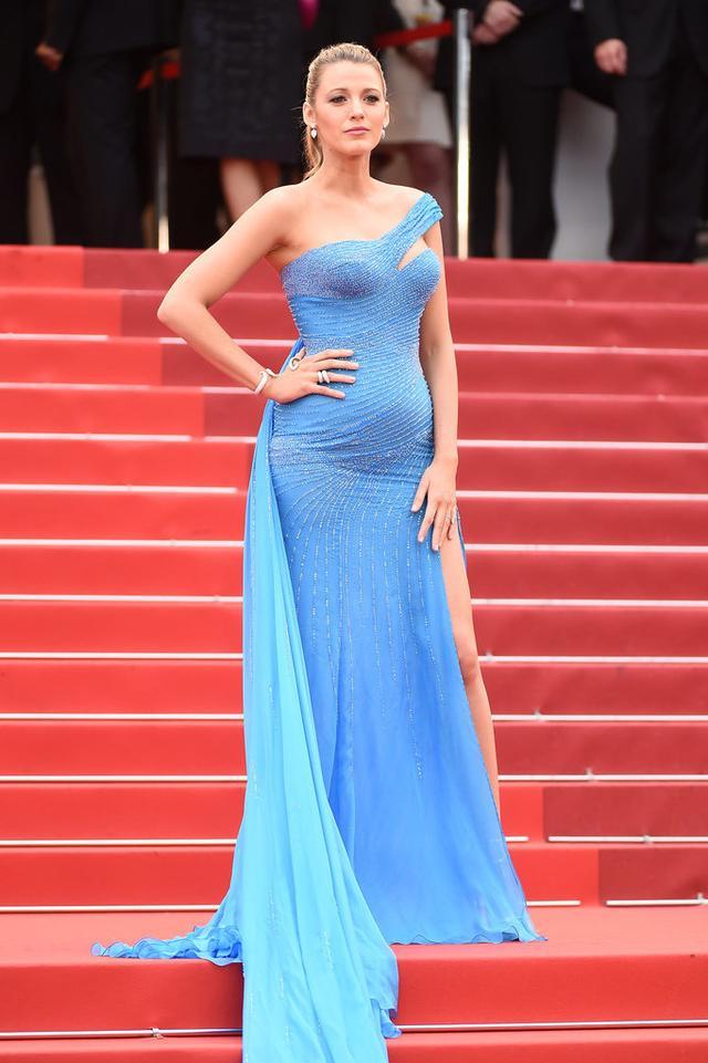 她怀孕5个月了就像刚吃饱 blake姚晨遮孕肚简直技法高超