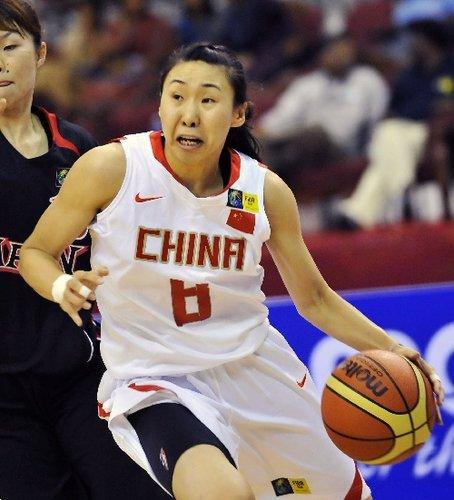 陈楠苗立杰合砍32分 中国女篮75-58胜日本