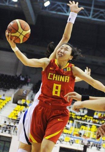 陈楠爆发率中国胜韩 女篮四强赛再战中华台北