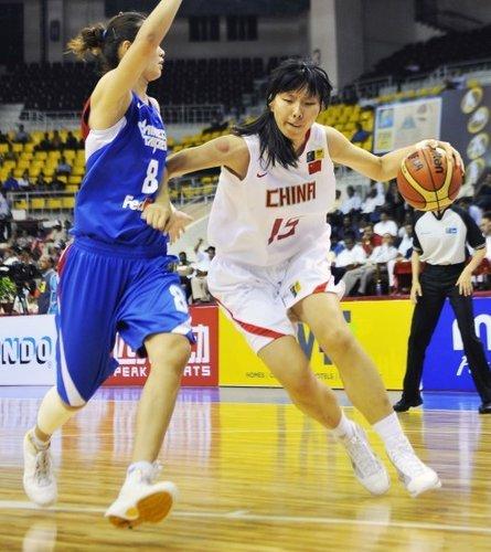 中国女篮胜台北晋级世锦赛 亚锦赛决赛战韩国