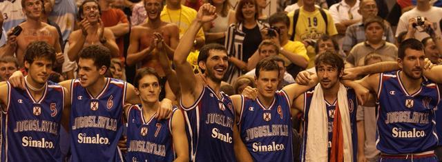 篮球世界杯经典战:前南斯拉夫加时胜阿根廷夺冠成绝唱