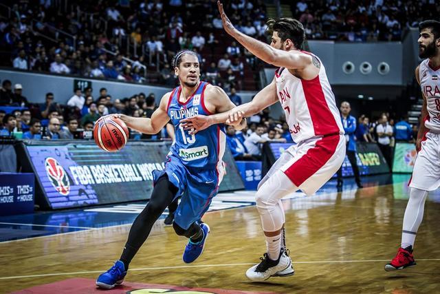 贾姆西迪26分伊朗险胜菲律宾 提前晋级篮球世界杯