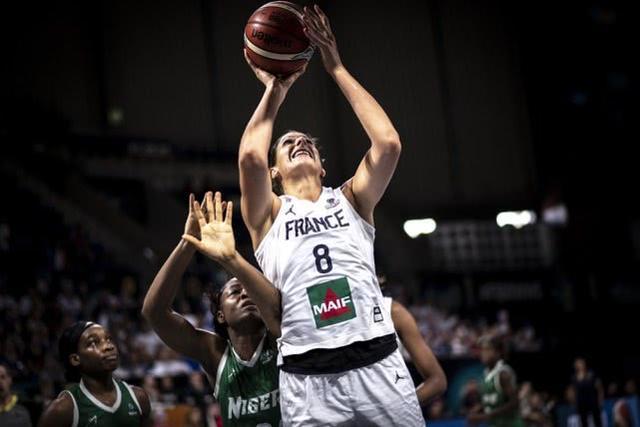 女篮世界杯-法国大胜尼日利亚 将与中国争第五