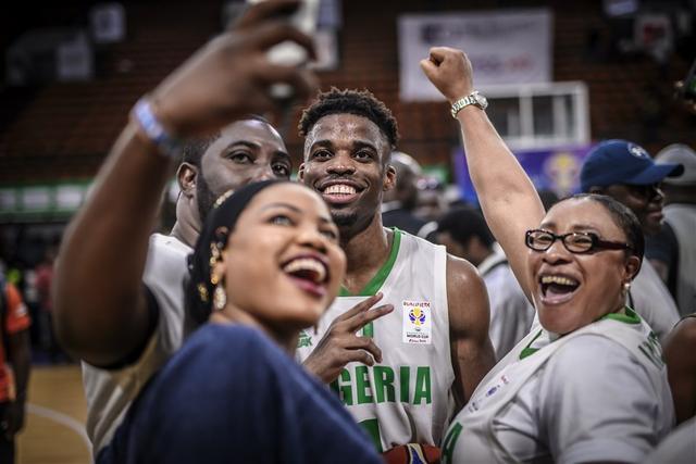 尼日利亚悍将:希望去中国打世界杯 想赢得一枚奖牌