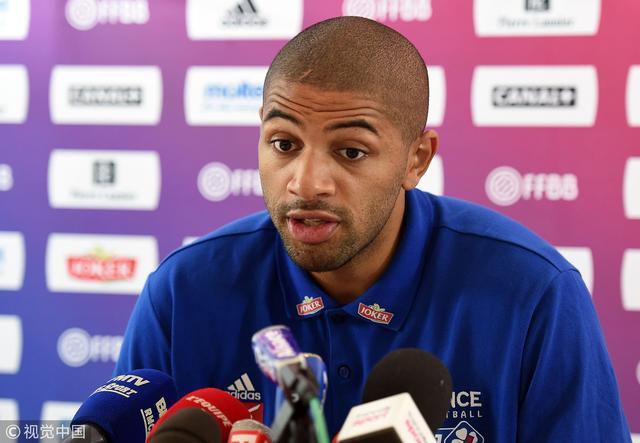 巴图姆展望男篮世界杯:要为法国赢得一枚奖牌