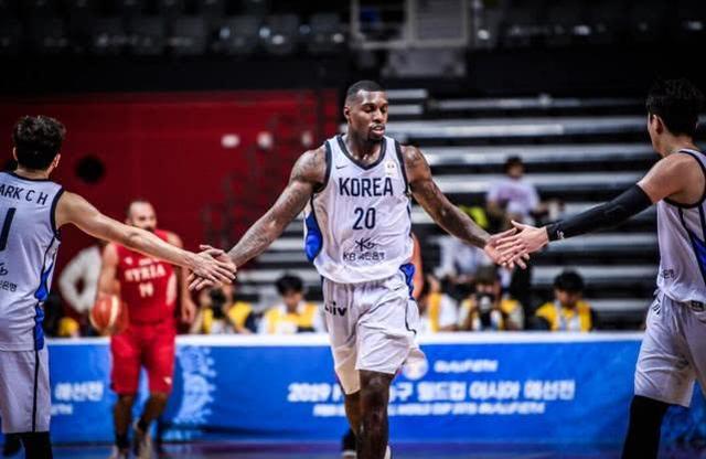 男篮世预赛-韩国37分轻取叙利亚 拉特利夫41+17