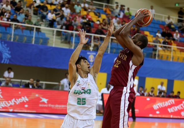 男篮世初赛-卡塔尔逆转伊拉克 梅菲尔德砍三双