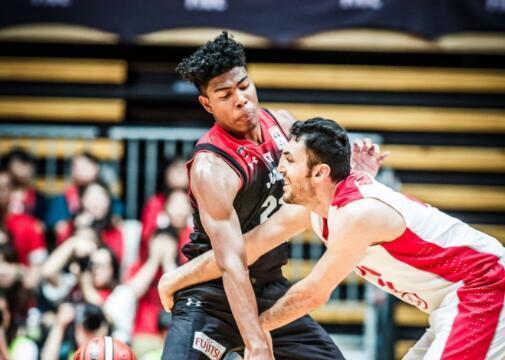 男篮世初赛-日本逆转伊朗 八村塁25+7渡边雄太18分