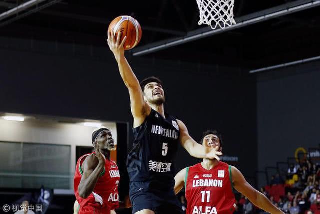 男篮世初赛-新西兰四人上双险胜黎巴嫩 悍将14分