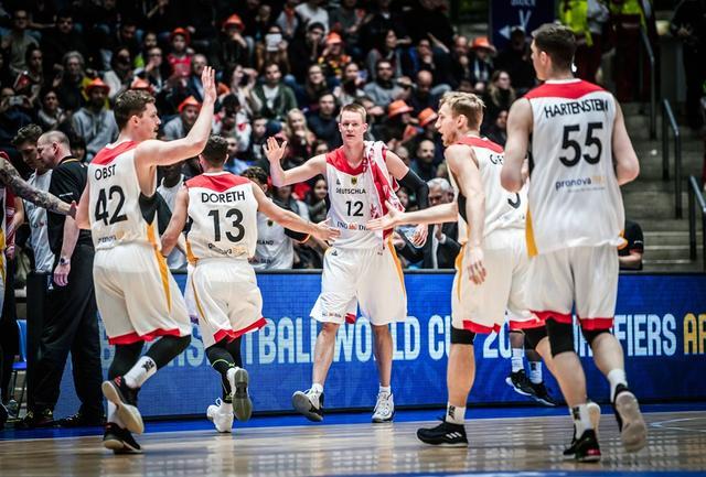 德国男篮为世初赛连胜召回3强援 老鹰悍将在列