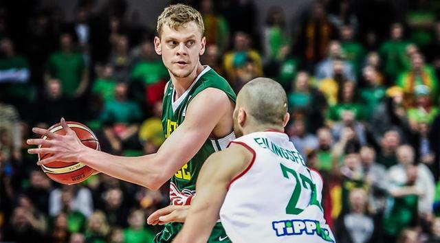 立陶宛强锋:从球星身上受益良多 世预赛欲全胜
