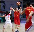 高清:亚洲杯女篮战朝鲜 李梦精确制导送妙传