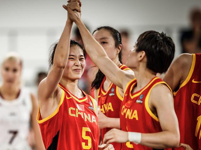 三军用命拿下关键一战 年轻的中国女篮做到了