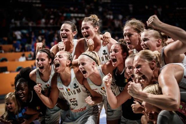 女篮世界杯-比利时逆袭获小组头名 加拿大力克法国