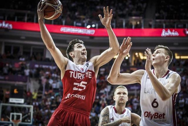 土耳其男篮公布世预赛24人名单 盼继续取佳绩