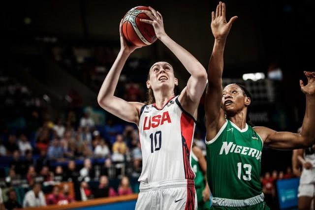 美国女篮胜尼日利亚挺进四强 斯图尔特19+5
