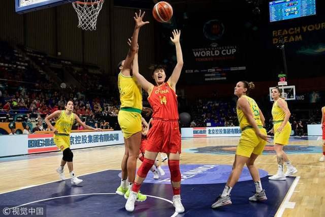 中国女篮41分负澳大利亚无缘四强 李月汝12+6