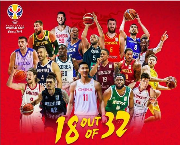 FIBA盛赞中国世界杯:比赛还没打就注定载入史册