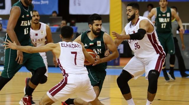 男篮世预赛-伊朗逆转胜卡塔尔 卡兹米补篮绝杀