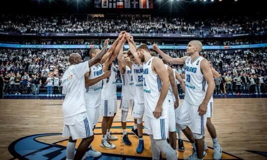 芬兰男篮公布世预赛19人名单 9人曾战欧洲杯