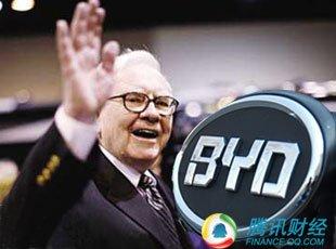 巴菲特一年狂赚500% 投资比亚迪又成经典