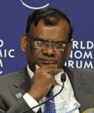 毛里求斯副总理兼财政和经济部部长 Sithanen
