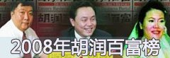 回顾:2008年胡润百富榜