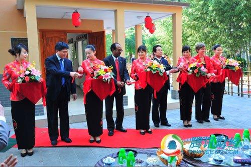 新型竹结构建筑现身紫竹院 每平米造价1600元