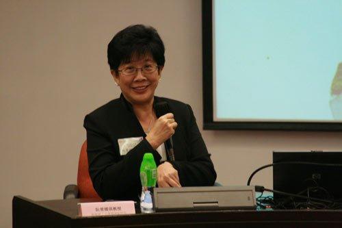 图文:香港理工大学协理副校长阮曾媛琪教授