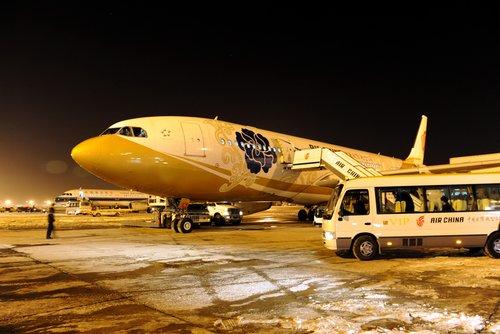 国航包机紧急执行海地地震救援任务