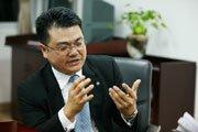 刘胜义接受媒体采访