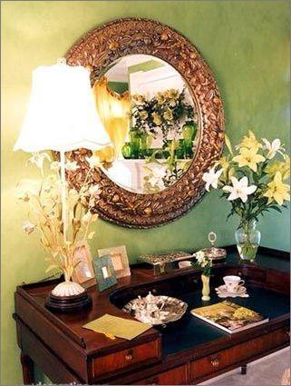 对镜贴花黄 30款唯美雅致女人最爱梳妆台