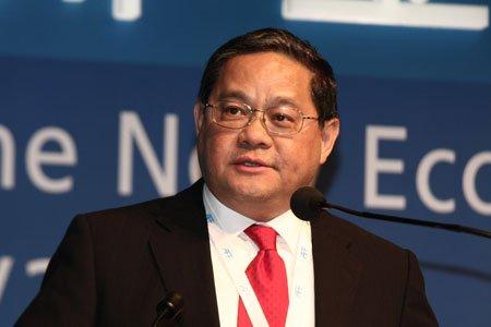 图文:利丰集团主席、国际商会主席 冯国经