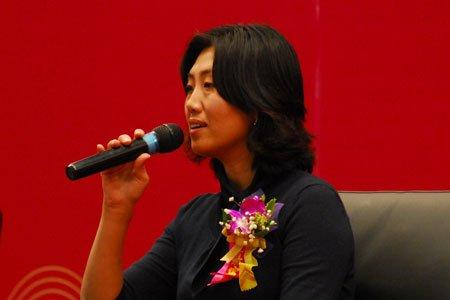 图文:北京蓝海纵横投资董事长许莉
