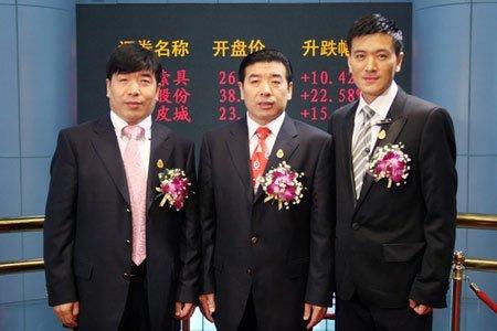 巨力索具今日上市 杨子家族身价超80亿元