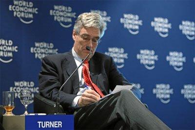 图文:英国金融管理局主席特纳勋爵