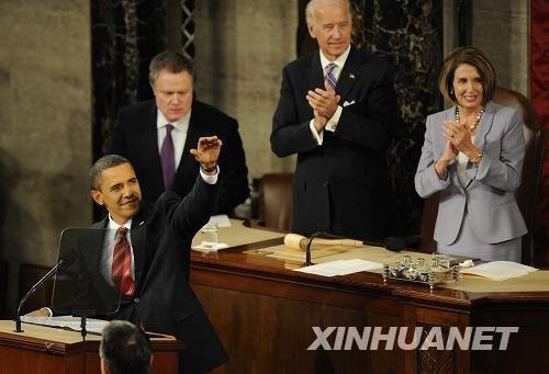 奥巴马宣布从2011年起冻结部分财政开支项目