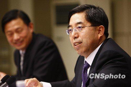 统计局长马建堂:中国将出统一核算地区GDP方案