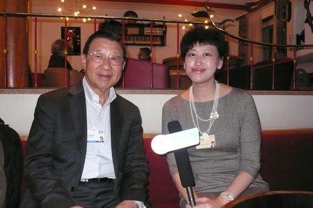 图文:汉鼎亚太公司董事长徐大麟