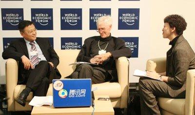 腾讯沙龙:中美学者达沃斯激辩贸易争端