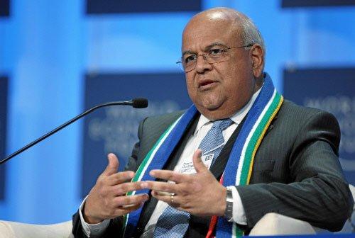 图文:南非财政部长普拉温·戈尔丹