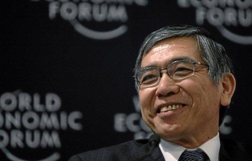 图文:亚洲开发银行主席黑田东彦