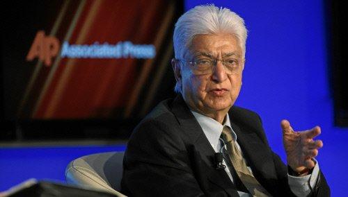 图文:Wipro公司主席Azim H. Premji