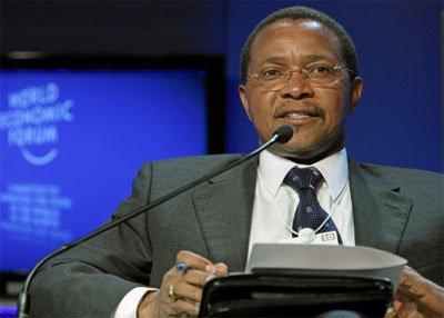 图文:坦桑尼亚总统贾卡亚·基奎特
