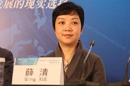 图文:美银美林中国行政总监薛清