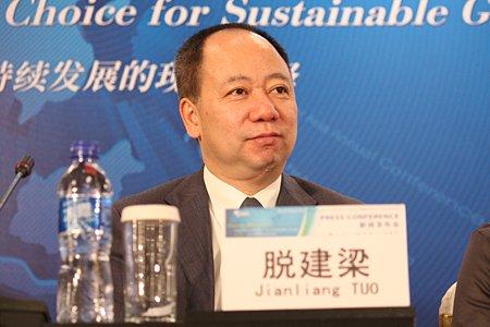 图文:赢创德固赛中国投资公司副总裁脱建梁