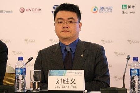 图文:腾讯公司网络媒体执行副总裁刘胜义