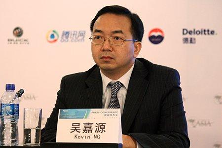 图文:德勤中国华北区副主管合伙人吴嘉源