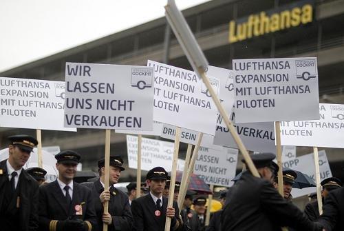 欧洲多国航空业集体罢工 经济衰退是导火索