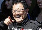 开赛车的丰田章男